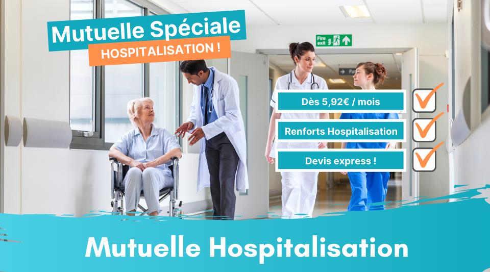 les frais d'hospitalisation couverts par une mutuelle hospitalisation