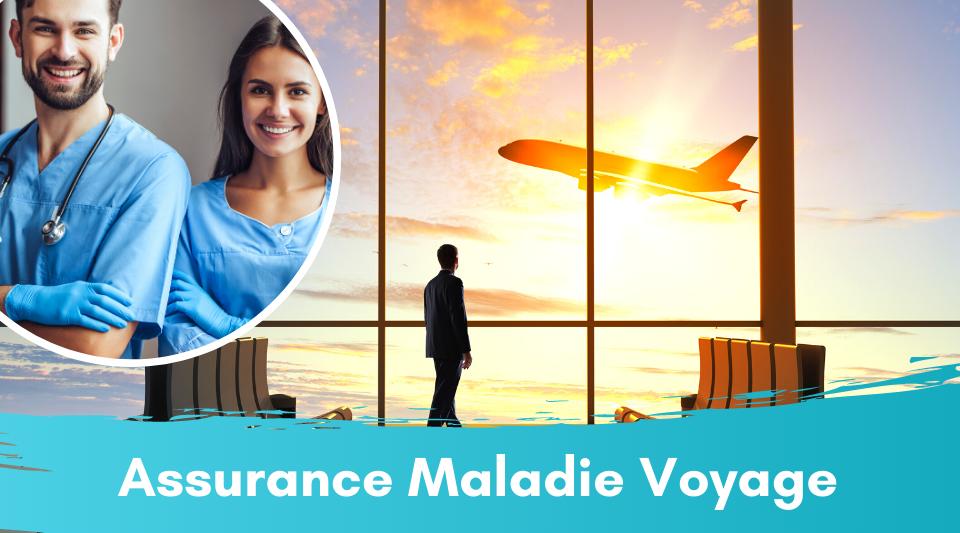 voyageurs couverts par une assurance maladie lors de voyages
